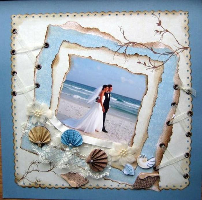 Fotobücher-bei-einer-Hochzeit-am-Meer