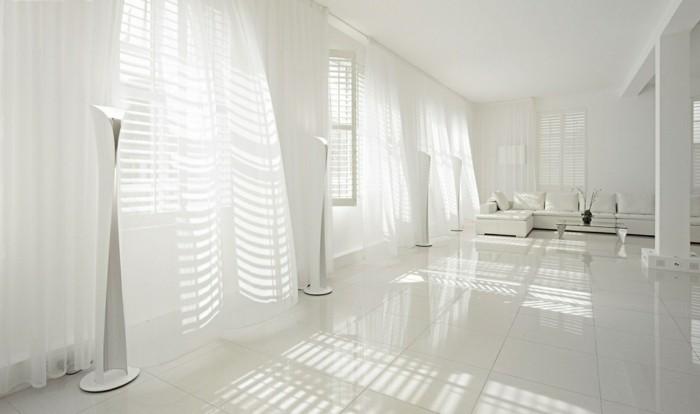 Gardinen-für-Wohnzimmer-alles-in-Weiß