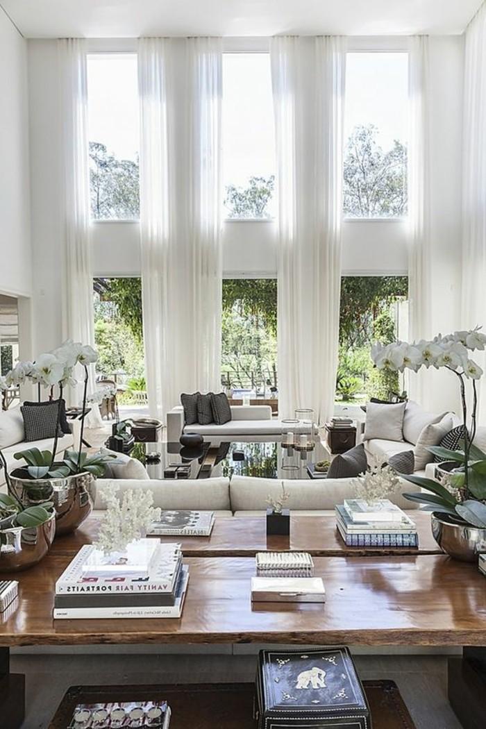 Gardinen f r wohnzimmer eine durchsichtige dekoration - Wohnzimmer gardinen ...