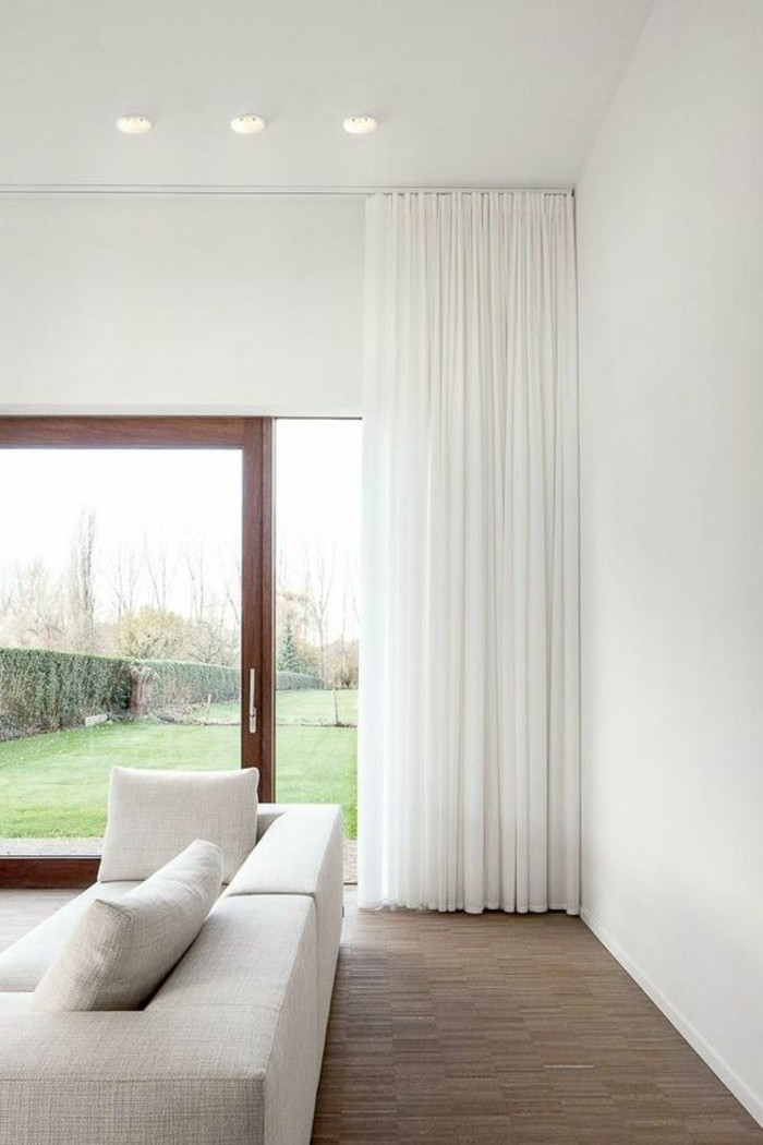 schone wohnzimmer gardinen emboss beautiful floral. Black Bedroom Furniture Sets. Home Design Ideas