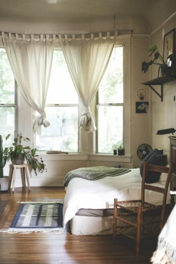 Gardinen für Wohnzimmer - eine durchsichtige Dekoration - Archzine.net