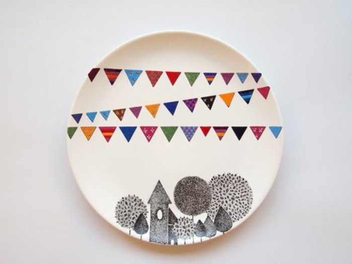 Porzellan bemalen  ein lustiges und kreatives Hobby ~ Geschirr Bemalen