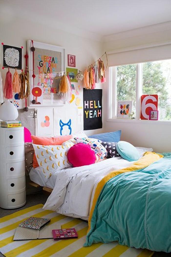 wandgestaltung jugendzimmer rot. Black Bedroom Furniture Sets. Home Design Ideas