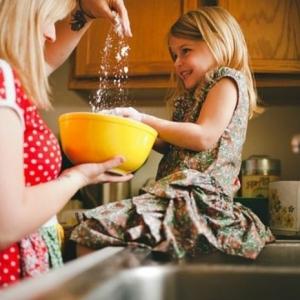 Backen mit Kindern - etwas Lustiges unternehmen
