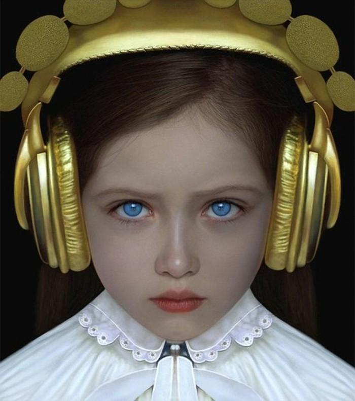 Kopfhörer-für-Kinder-golden-und-elegant