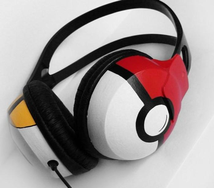 Kopfhörer-für-Kinder-mit-Pokeball