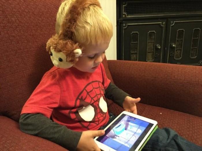Kopfhörer-für-Kinder-wie-Affen