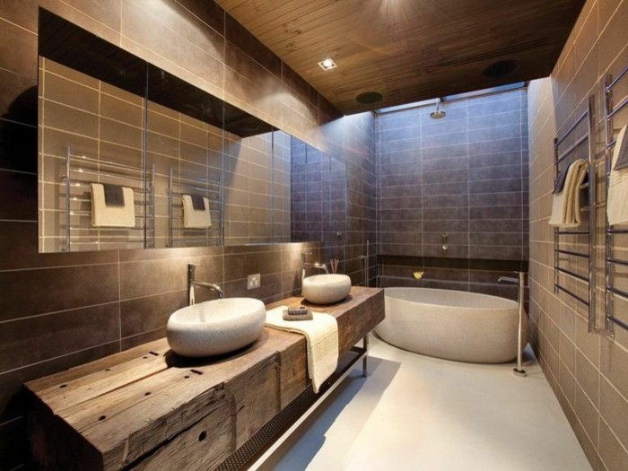 luxus badezimmer 40 wundersch ne ideen. Black Bedroom Furniture Sets. Home Design Ideas