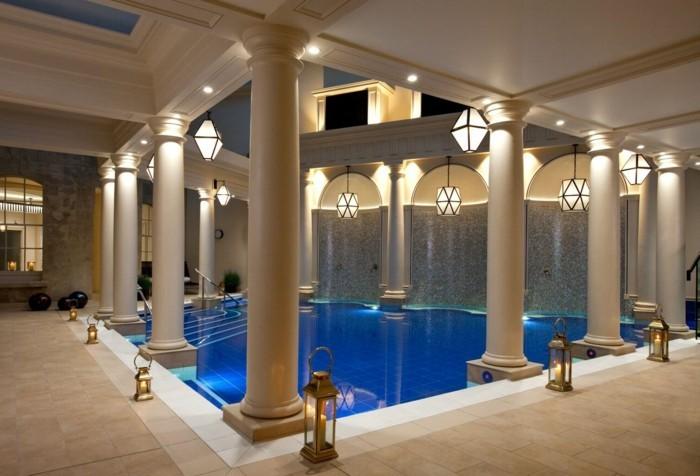 Luxus schlafzimmer mit pool  Luxus Badezimmer - 40 wunderschöne Ideen - Archzine.net