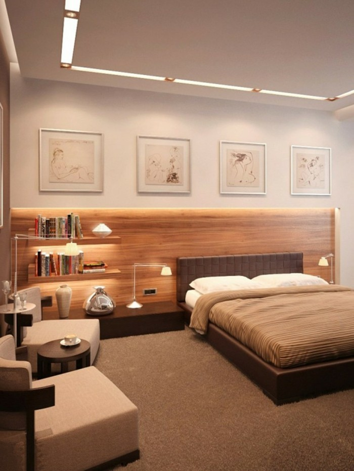 schlafzimmer deckenleuchten led. Black Bedroom Furniture Sets. Home Design Ideas