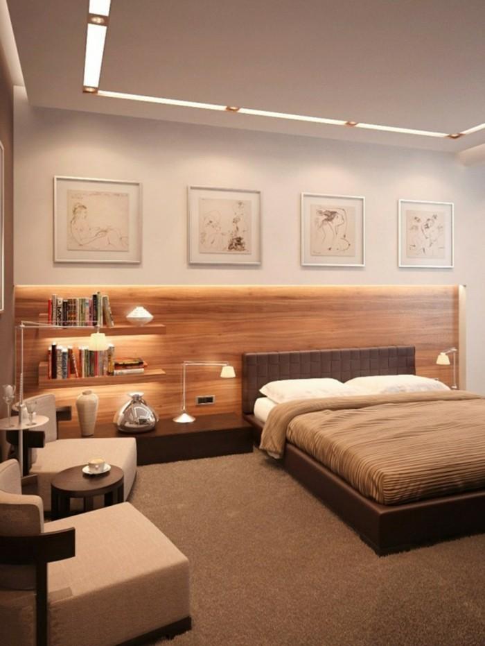 Moderne-Deckenleuchten-mit-Led-Beleuchtung-und-Glühbirne-zusammen