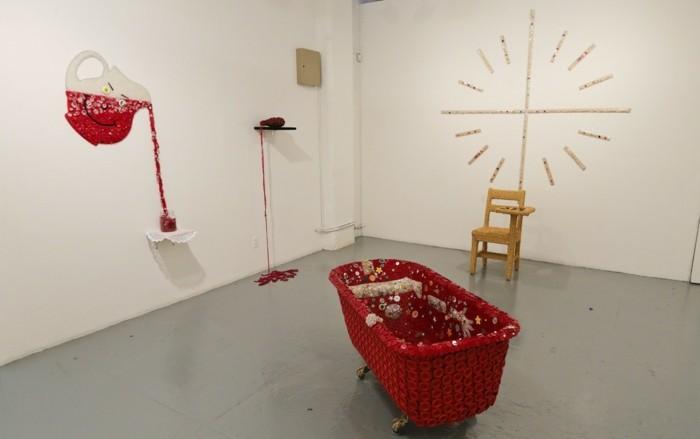 Museum-für-Zeitgenössische-Kunst-eine-Instalation-aus-Knopfen