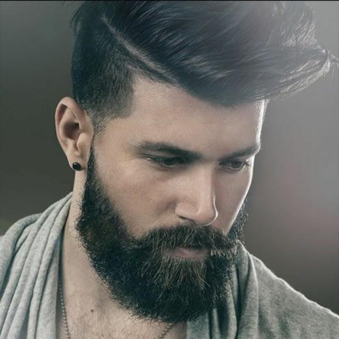 Ohrringe-für-Männer--mit-modernem-bart