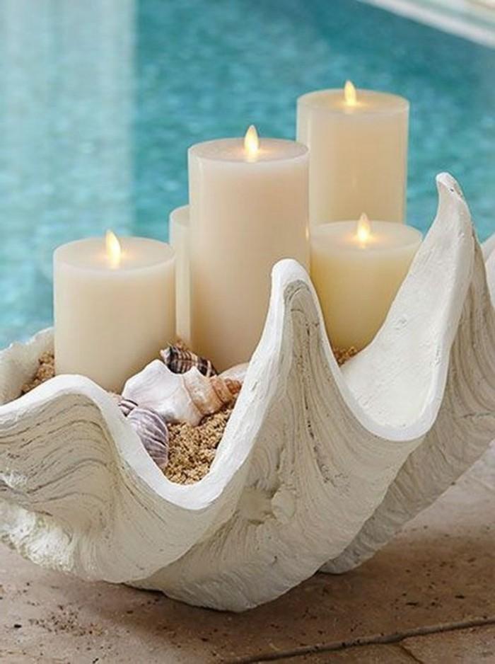 Originelle-Geschenke-Kerzen-in-Muschel