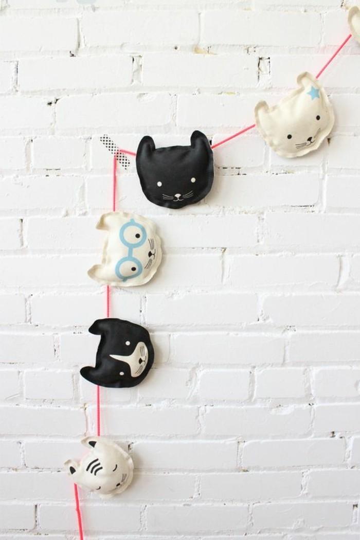 Originelle-Geschenke-lustige-Katzen-auf-Stoff