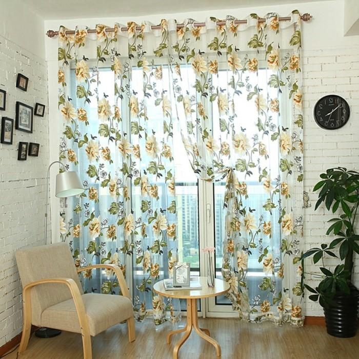 gardine wohnzimmer idee ~ artownit for ., Wohnzimmer