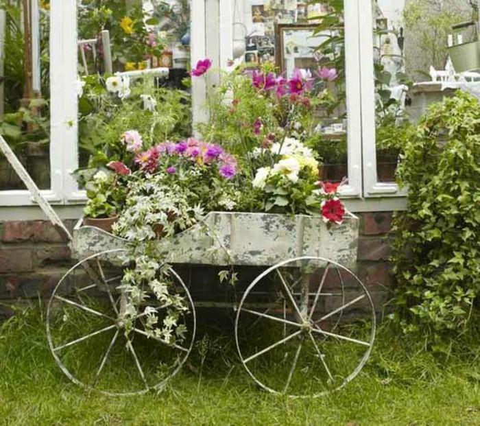 40 beispiele f r shabby chic garten mit vintage flair for Gartengestaltung vintage