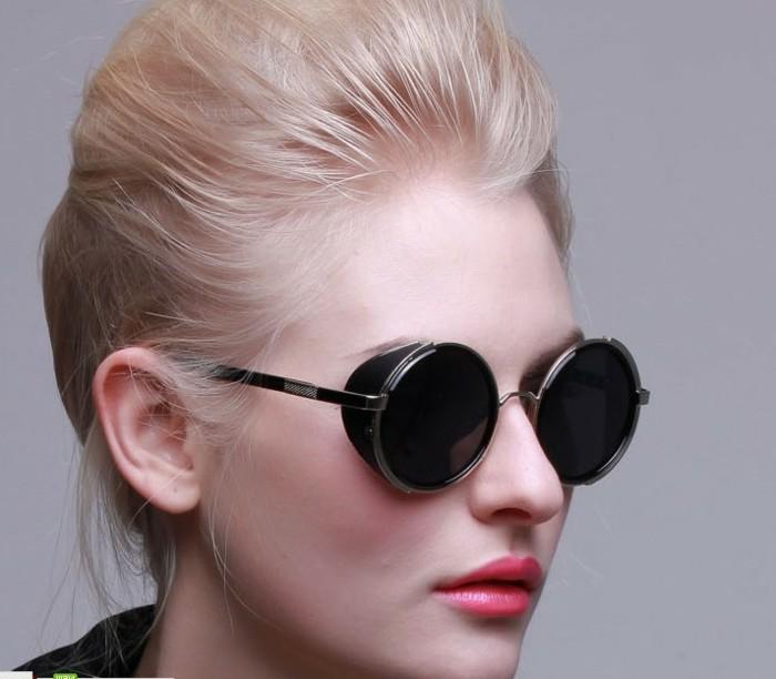 Sonnenbrille-runde-Gläser-mit-kleinem-Rahmen