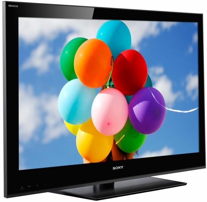 TV-Flachbildschirm-mit-bunten-Ballonen