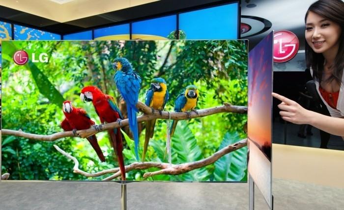 TV-Flachbildschirm-wie-ein-Blatt-Papier