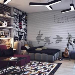 Wandgestaltung Jugendzimmer - cool und schön einrichten