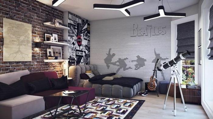 Tapeten-für-Jugendzimmer-mit-Beatles