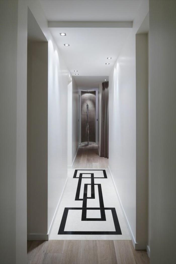 Flur Elegant Gestalten : Teppich für den Flur in Strickoptik mit einer passenden Farbgebung