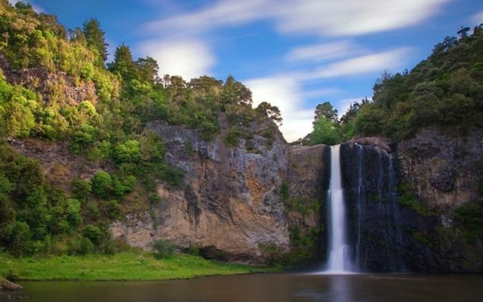 Wasserfall-Fotos-sehr-kleine-Strömung