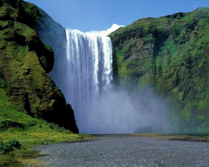 Wasserfall-Fotos-wie-von-unten-aussieht