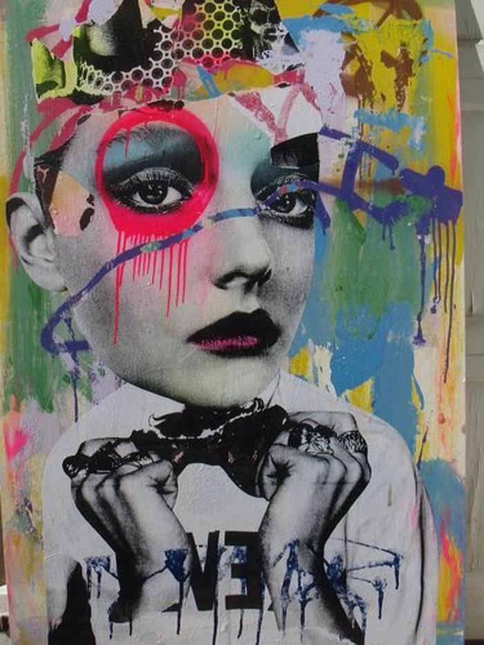 Zeitgenössische-Malerei-mit-vielen-Farben