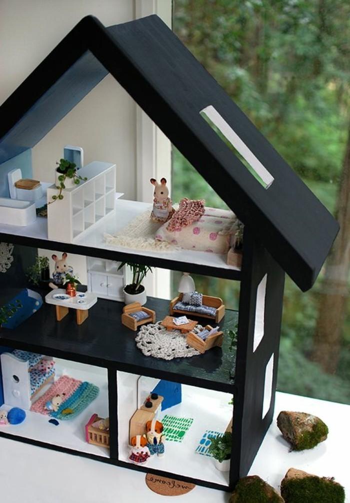 puppenhaus spielzeug und kunstwerk. Black Bedroom Furniture Sets. Home Design Ideas