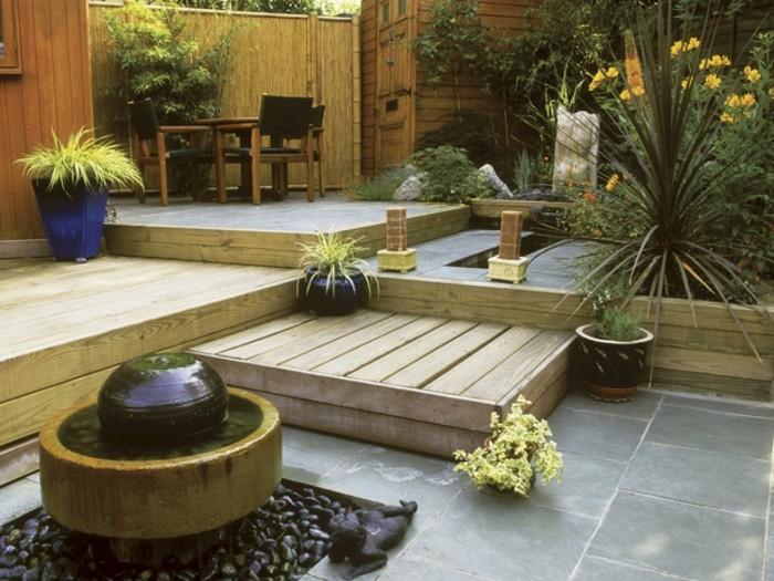 Attraktive Gartenideen Schöne Gestaltung Asiatisches Exterieur