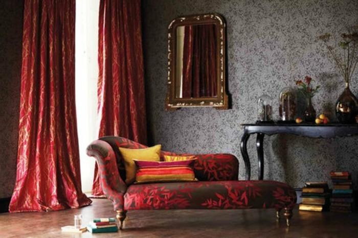 50 sehr interessante wandtapeten modelle. Black Bedroom Furniture Sets. Home Design Ideas