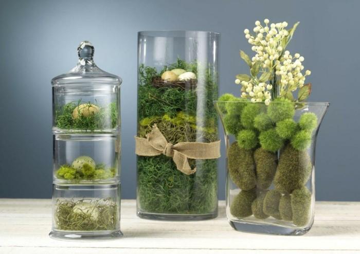 diy-hochzeit-wunderschöne-dekoration-mit-grünen-pflanzen