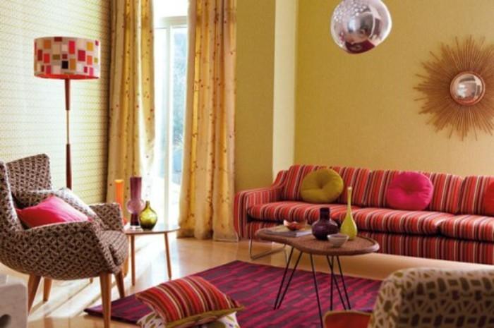 Elegante Deko Wohnzimmer ~ Raum Haus Mit Interessanten Ideen
