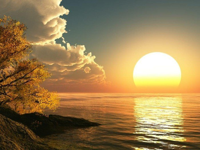 fabelhaft-sonnenuntergang-und-wolke-meer