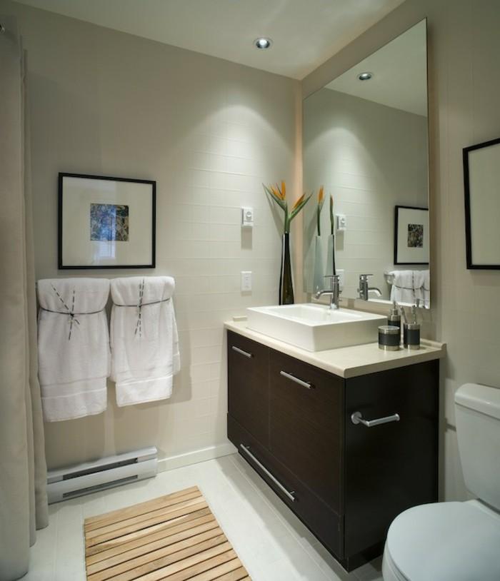 kleines bad einrichten 50 vorschl ge daf r. Black Bedroom Furniture Sets. Home Design Ideas