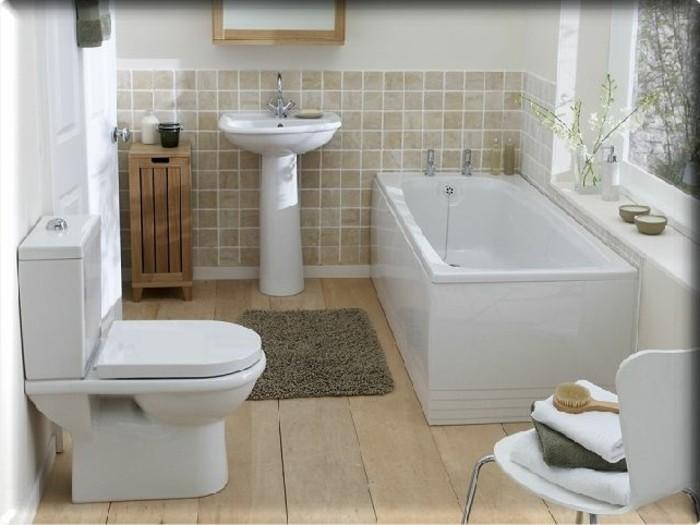 kleines-badezimmer-ideen-elegante-weiße-möbel