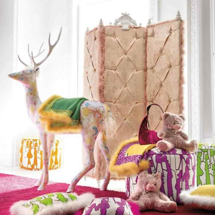 kreative-bunte-lustige-vintage-dekoration-schaffen
