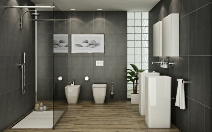 modernes-design-badezimmer-graue-wände-elegante-gestaltung