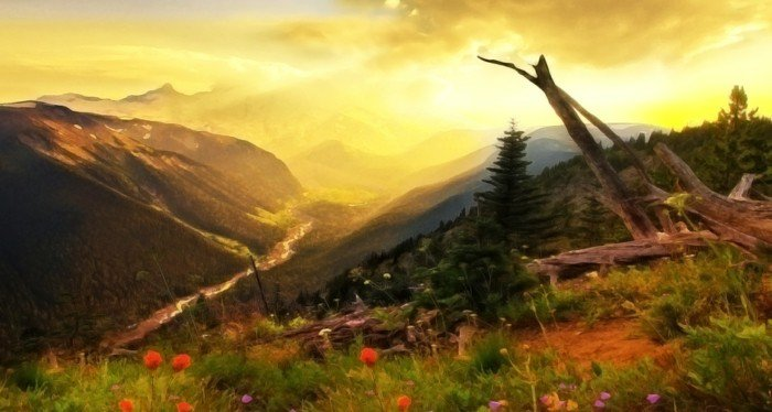 natur-bilder-sonne-berge