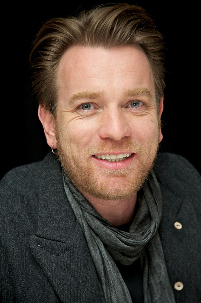 "NEW YORK, NY - MARCH 08: Ewan McGregor at the ""Salmon Fishing In The Yemen"" Press Conference at the Regency Hotel on March 8, 2012 in New York City. (Photo by Vera Anderson/WireImage)"