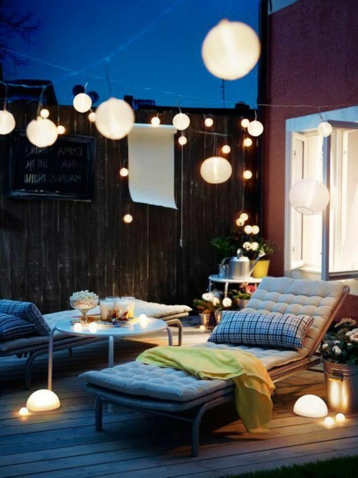 bedeckte terrasse ideen esszimmer garten