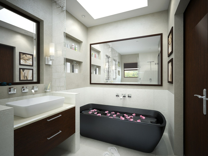 Kleines Bad einrichten? 50 Vorschläge dafür! - Archzine.net