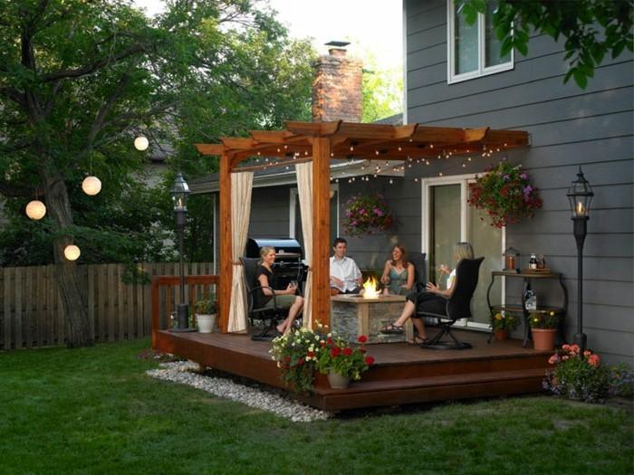 schoner garten terrasse, wie wirkt ein schöner garten? hier sind 50 beispiele! - archzine, Design ideen