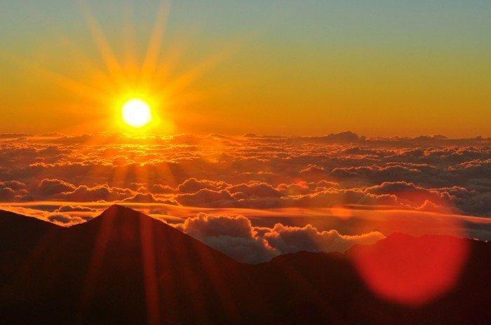 Himmel Sonnenaufgang