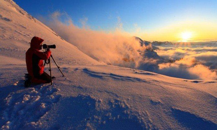 sonnenaufgang-fotografieren-berge-mit-schnee