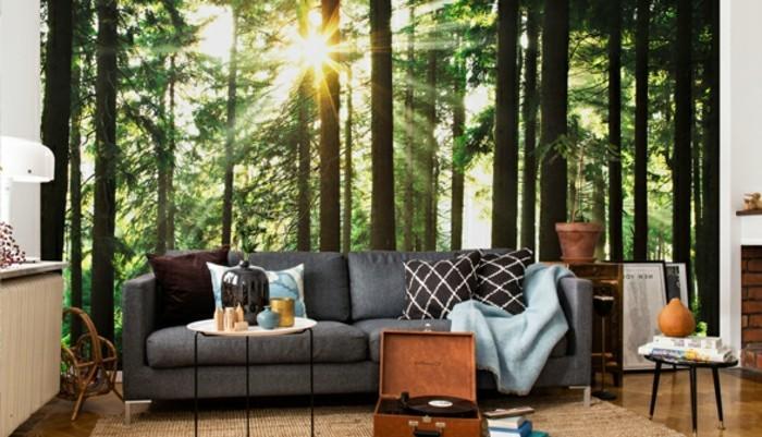 super-interessante-vliestapete-im-super-schönen-wohnzimmer