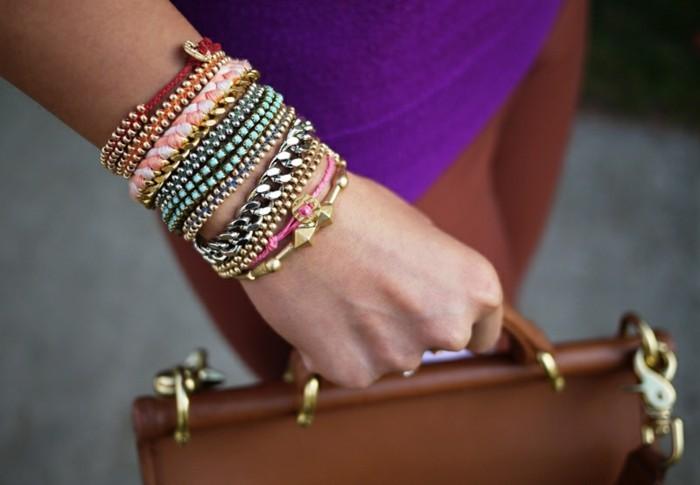 Armbänder-mit-Perlen-selber-machen-moderne-Accessoire