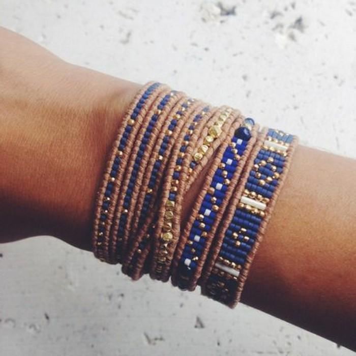 Hervorragend Armbänder Mit Perlen Selber Machen So Geschickt